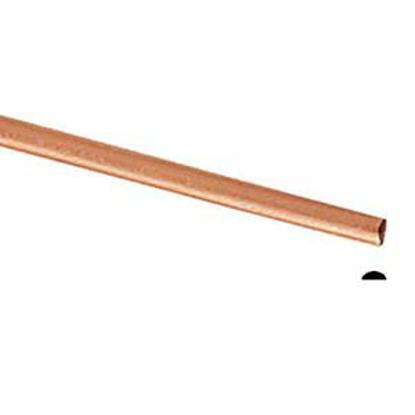 Picture of Copper Half Round Wire (Soft) 1.0mm x 10m