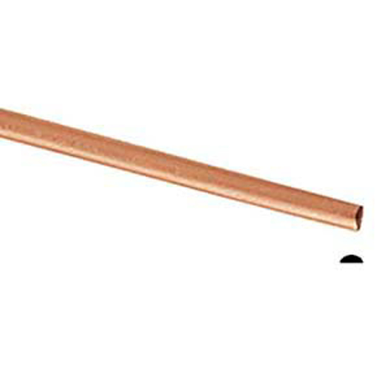 Picture of Copper Half Round Wire (Soft) 2.59mm x 5m
