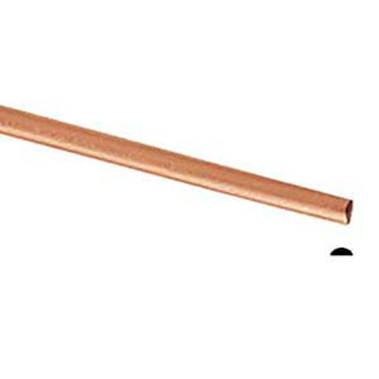 Picture of Copper Half Round Wire (Soft) 3.25mm x 1m