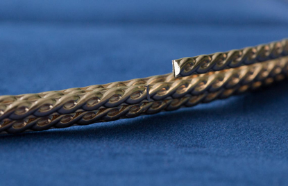 Picture of 14/20 Yellow Gold-Filled Pattern Wire (3.10 x 1.27mm) x 25cm