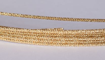 Picture of 14/20 Gold-Filled Sparkle Round Wire 1.1mm x 100cm